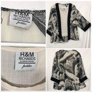 R&M Richards 2pc top size XL Petite